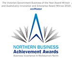 Northern Business Achievement Awards Logo - Business of the Year Recipient