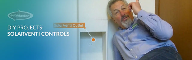 ecoMaster Maurice Beinat shows how air flows through the solarventi outlets